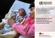 Brochure - World Health Organization
