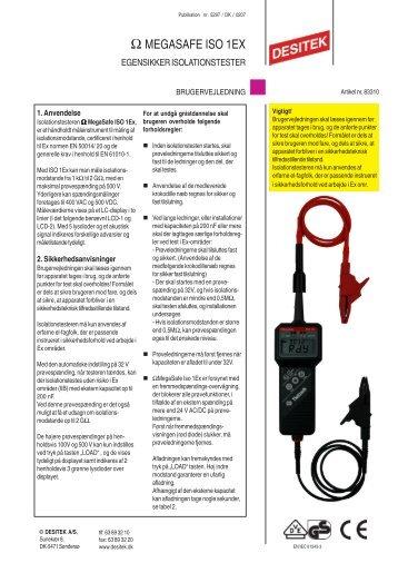 OhmMegasafe ISO 1Ex - DESITEK A/S