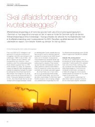 Skal affaldsforbrænding kvotebelægges? - Ea Energianalyse