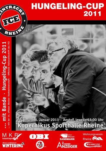 Kopernikus Sporthalle Rheine - Hungeling-Cup