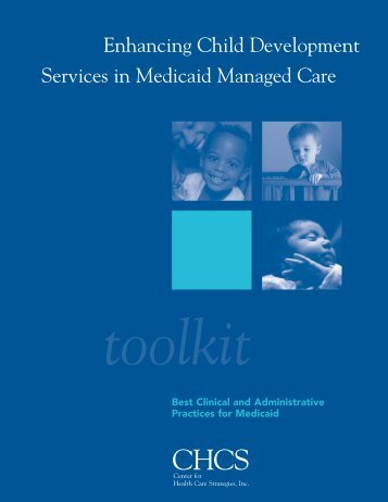 Enhancing Child Development Services in Medicaid Managed Care