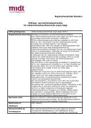 Funktionsbeskrivelse UKYL - Regionshospitalet Randers