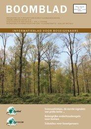 Boomblad jaargang 10 - nummer 1 - Bosgroepen.be