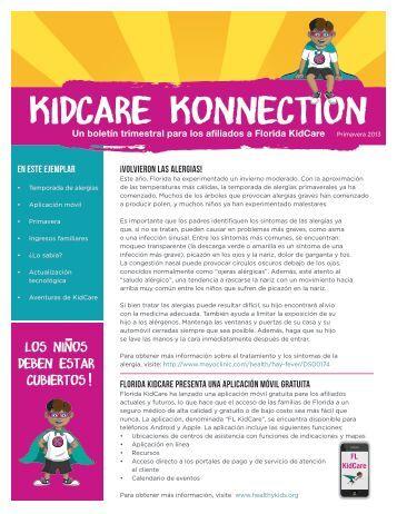 Primavera de 2013 - Healthy Kids
