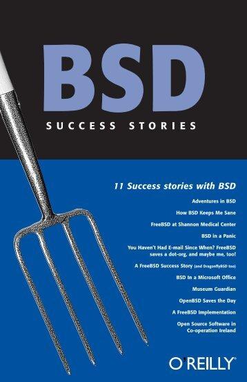 BSD Success Stories - O'Reilly Media