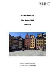 Market Snapshot - Nordic Hotel Consulting