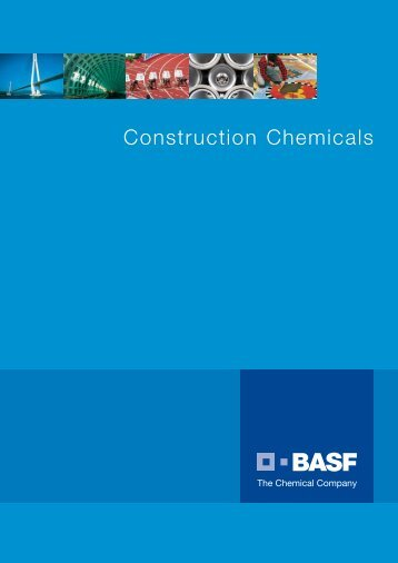 BASF CC Brochure - BASF Construction Chemicals Pacific