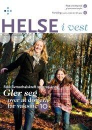 2008-04_Helseivest_web - Helse Vest