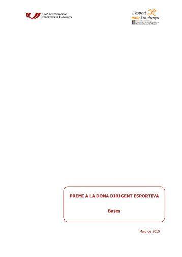 Bases - Plataforma Esport i Dones