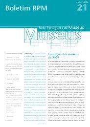 Aspectos da Evolução dos Museus em Portugal no período 2000