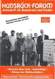 Wer zum zweiten Mal heiratet, Iliegt - Hunsrück Forum