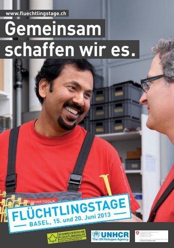 Flyer Flüchtlingstag Basel