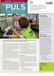 EPJ Puls - til Medicinsk og Akut modtage afdeling - Januar 2010