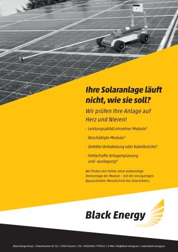 Download Flyer (PDF) - Black Energy