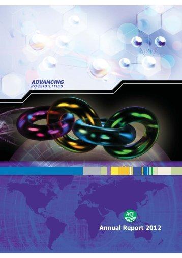 Annual Report 2012 - ACI
