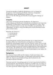 ANGST Ursache: Symptome: - Naturheilpraxis Dr. H. Zaeri-Esfahani
