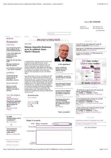 mouvements - actuel-avocat.fr - Simon Associés