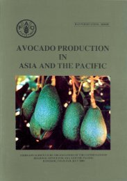 Avocado Production in Asia and the Pacific - United Nations in ...