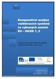 Komparativní analýza vzdělávacích systémů ve ... - Člověk v tísni