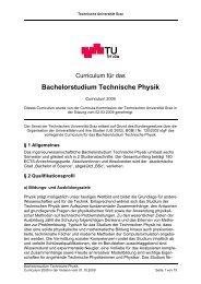 Bachelorstudium Technische Physik - mibla.TUGraz.at