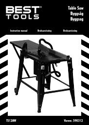Table Saw Byggsåg Byggsag