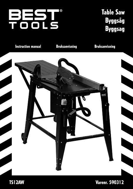 Table Saw Byggsåg Byggsag