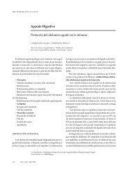 Aparato Digestivo Protocolo del abdomen agudo en la infancia