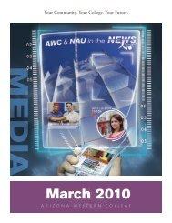 March 2010 - Arizona Western College