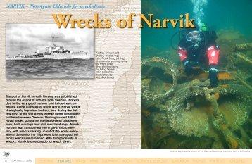 Wrecks of Narvik - X-Ray Magazine