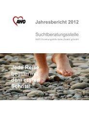 Jahresbericht 2012 - AWO Regionalverband Halle-Merseburg eV