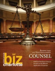 Counsel - Robinson, Bradshaw and Hinson