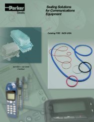 Sealing Solutions for Communications Equipment - Valley Seal