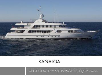 kanaloa - Taylor'd Yacht Charters