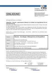 Einladung und Wegbeschreibung - Gemeinsam Leben ...