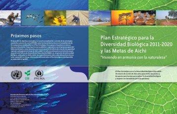 Plan Estratégico para la Diversidad Biológica 2011-2020 y las ...