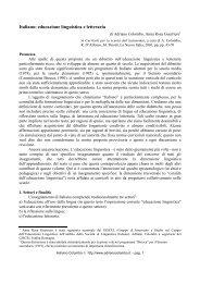 Italiano: educazione linguistica e letteraria (2001) - Adrianocolombo.it