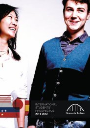 international students' prospectus 2011-2012 - Study in the UK