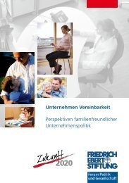 Unternehmen Vereinbarkeit - Bibliothek der Friedrich-Ebert-Stiftung