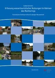 Endbericht 2011 Erfassung wassertouristischer Nutzungen im ...