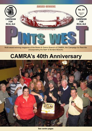 CAMRA's 40th Anniversary - Bristol & District CAMRA