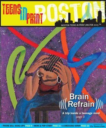 Brain Refrain (((( (((( - Teens in Print