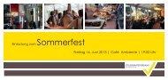 Einladung zum Sommerfest Freitag 14. Juni 2013 ... - Stbv Bremen