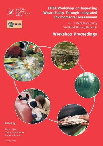 EFIEA Workshop on Improving Waste Policy Through Integrated ...