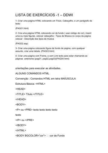 Aula2/Atividade_DDWI - Professor Jose Alves