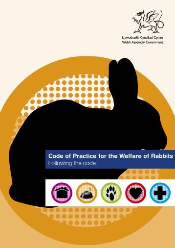 Code of Practice for the Welfare of Rabbits