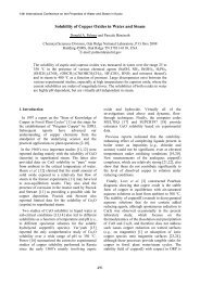 Solubility of Copper Oxides in Water and Steam - ZyXEL NSA210