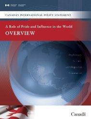 OVERVIEW - Dr. Walter Dorn