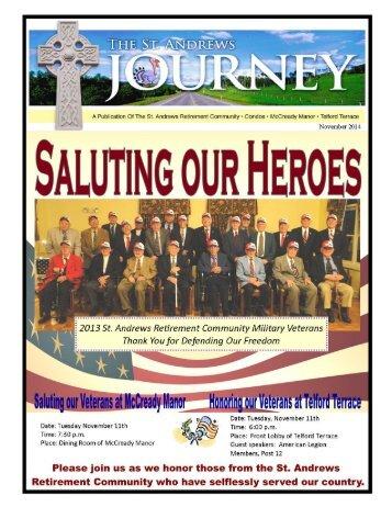 St. Andrews Retirement Community November Newsletter