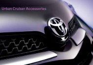 Urban Cruiser Accessories - Wess Motors