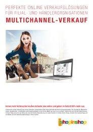 Prospekt Multichannel - I-Shop-In-Shop